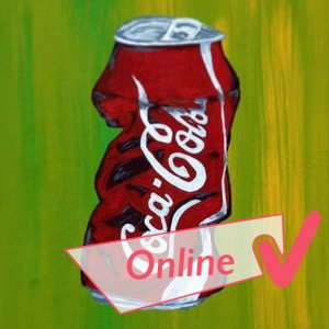 Stilleben Cola Dose (Online-Workshop)